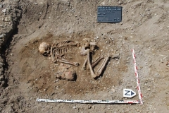 Glockenbecherzeitliches Hockergrab