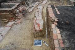 Mittelalterliche Mauerzüge aus Landshut