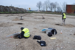 Arbeitssituation, Ausgrabungen in Garching b. München
