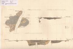 Zeichnung einer mittelneolithischen Grube