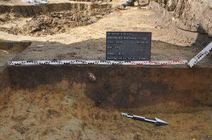 Neolithische Grube am Sternweg